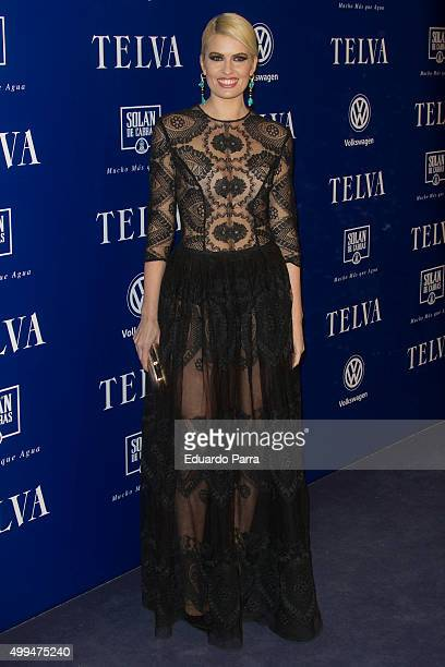 Adriana Abenia attends 'T de Moda' awards by Telva Magazine photocall at Royal theatre on December 1 2015 in Madrid Spain
