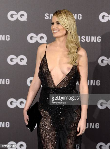 Adriana Abenia attends the 2017 'GQ Men of the Year' awards at The Palace Hotel on November 16 2017 in Madrid Spain