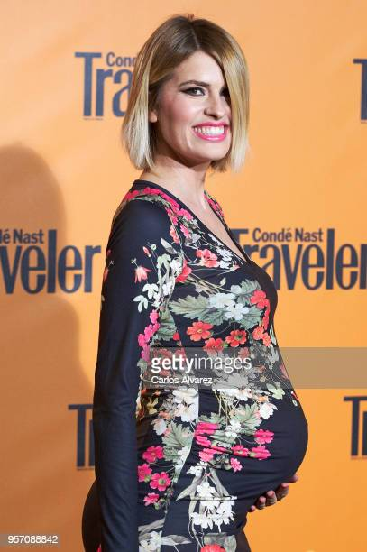 Adriana Abenia attends the 2018 Conde Nast Traveler awards ceremony at Casino de Madrid on May 10 2018 in Madrid Spain