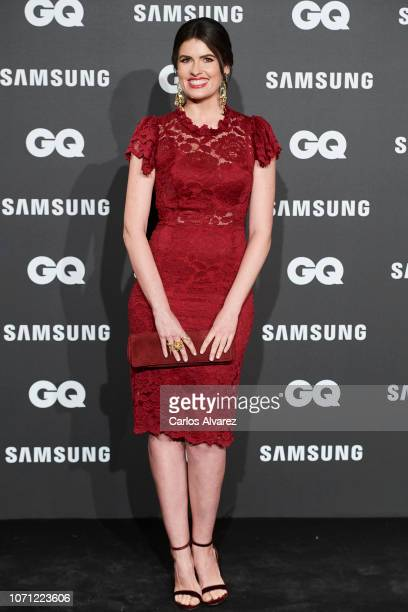 Adriana Abenia attends the 2018 GQ Men of the Year awards at the Palace Hotel on November 22 2018 in Madrid Spain