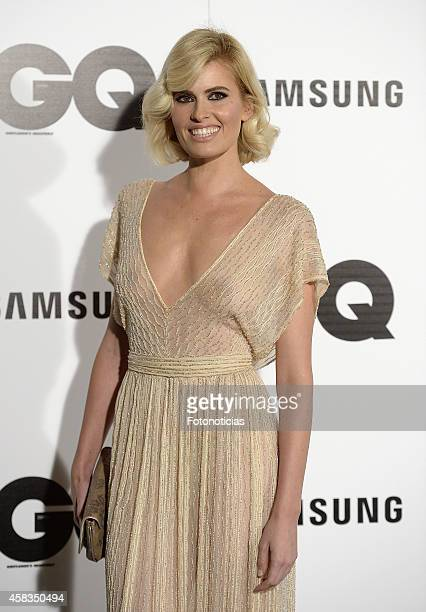 Adriana Abenia attends the GQ 2014 Men of the Year Awards ceremony at the Palace Hotel on November 3 2014 in Madrid Spain