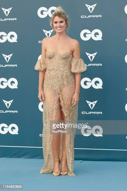 Adriana Abenia attends the GQ Magazine 25th Aniversary at La Zarzuela Racecourse in Madrid Spain on Jul 9 2019