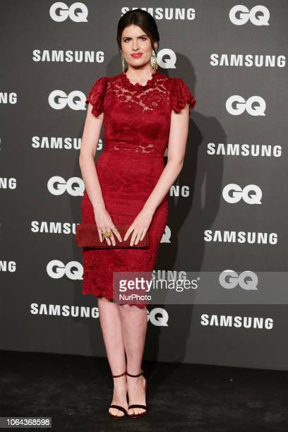 Adriana Abenia attends the 'Gq Man of the year 2018 awards' at Westin Palace Hotel in Madrid Spain on Nov 22 2018