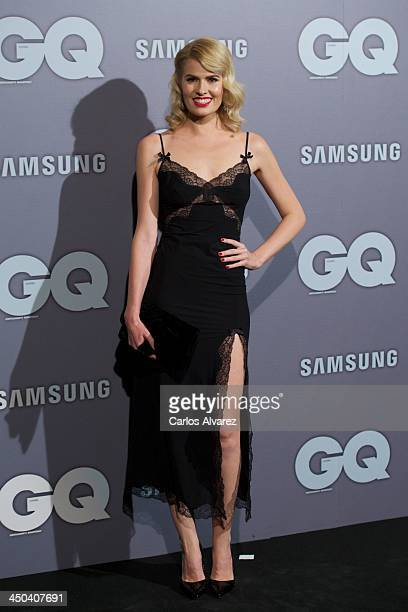 Adriana Abenia attends the GQ Men Of The Year Award 2013 at the Palace Hotel on November 18 2013 in Madrid Spain