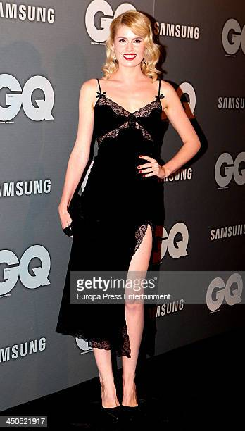 Adriana Abenia attends the 'GQ Men Of The Year awards 2013' on November 18 2013 in Madrid Spain