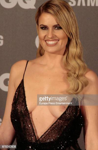 Adriana Abenia attends the GQ Men of the Year Awards 2017 at Palace hotel on November 16 2017 in Madrid Spain
