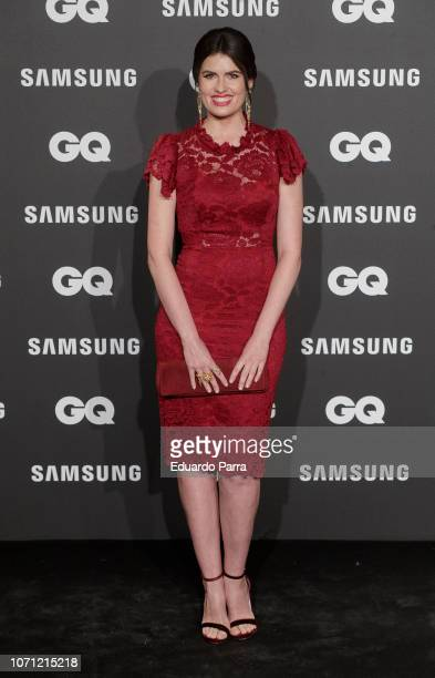 Adriana Abenia attends the 'GQ Men of the Year' awards photocall at Palace hotel on November 22 2018 in Madrid Spain