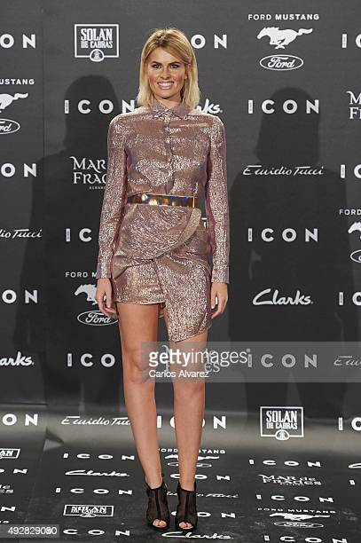 Adriana Abenia attends the ICON Magazine Fashion awards at the 'Casa de Velazquez' on October 15 2015 in Madrid Spain