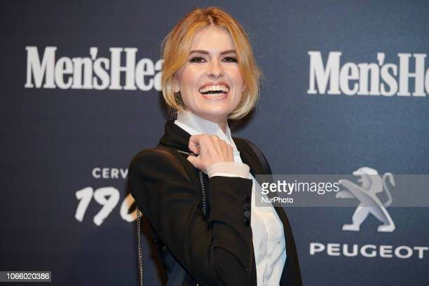 Adriana Abenia attends the Men's Health 2018 awards photocall at Goya Theater in Madrid Spain on Nov 27 2018