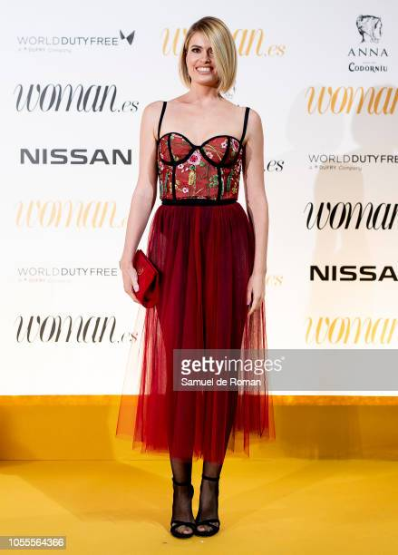 Adriana Abenia attends Woman awards 2018 at the Casino de Madrid on October 30 2018 in Madrid Spain