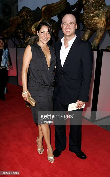 Adriana Alberghetti and Tripp Vinson during 2005 Venice Film Festival 'Casanova' Premiere Red Carpet at Palazzo del Cinema in Venice Lido Italy