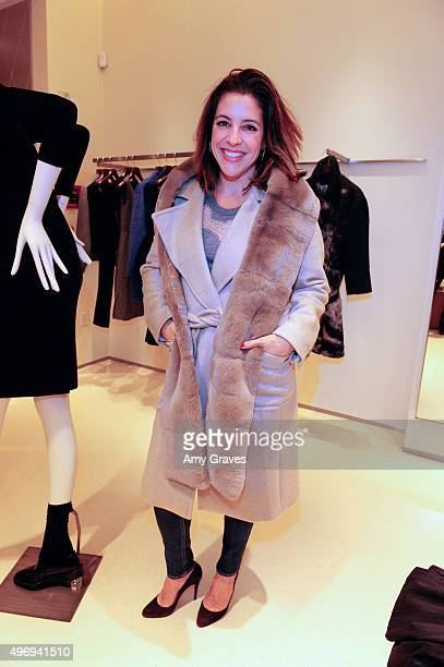 Adriana Alberghetti attends the Max Mara And Women In Film Celebrate The Fall/Winter 2015 Collection on November 12 2015 in Beverly Hills California