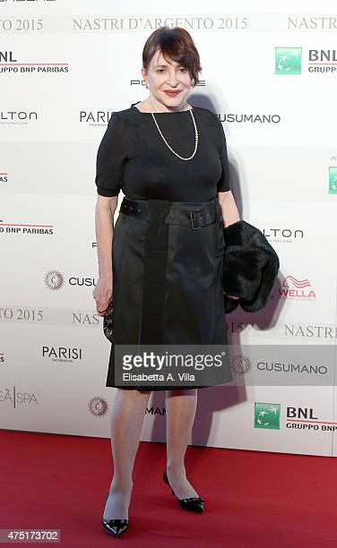 Adriana Asti attends '2015 Nastro D'Argento Award' Nominees Announcement at Maxxi Museum on May 29 2015 in Rome Italy