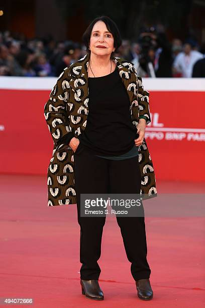 Adriana Asti attends a red carpet for 'StarLight Cinema Award' during the 10th Rome Film Fest on October 24 2015 in Rome Italy
