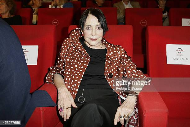 Adriana Asti attends the Cocktail Party during the 9th Rome Film Festival at Casa del Cinema on October 15 2014 in Rome Italy