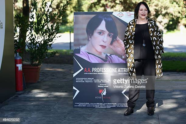 Adriana Asti attends the 'StarLight Cinema Award' during the 10th Rome Film Fest on October 24 2015 in Rome Italy