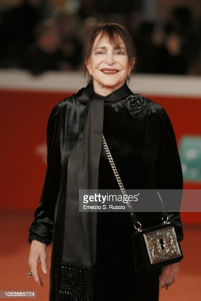 Adriana Asti walks the red carpet ahead of the 'Before The Frost' And 'Donna Fabia' screening during the 13th Rome Film Fest at Auditorium Parco...