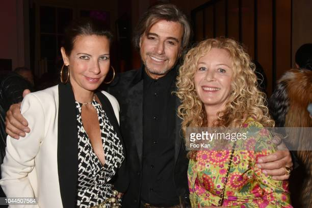 Adriana Betencourt Alexandre Zouari and Kathy Wolff attends the Avon Life Colour Party By Kenzo Takada as part of the Paris Fashion Week Womenswear...