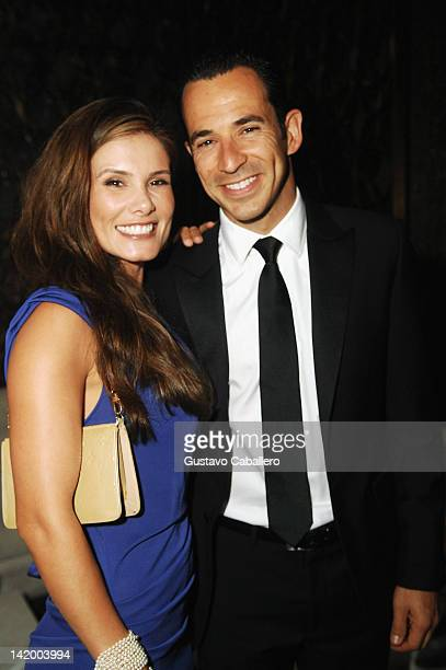 Adriana Castroneves and Helio Castroneves attends Brazil Foundation Gala at W South Beach on March 27 2012 in Miami Beach Florida