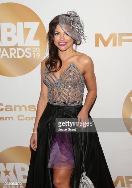 Adriana Chechik attends the 2019 XBIZ Awards on January 17 2019 in Los Angeles California