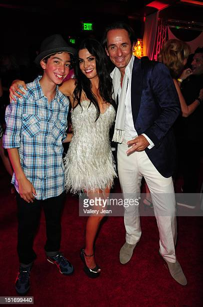 Adriana de Moura and Frederic Marq and son attend The Real Housewives of Miami Season 2 VIP Launch Party at The Forge Restaurant on September 9 2012...