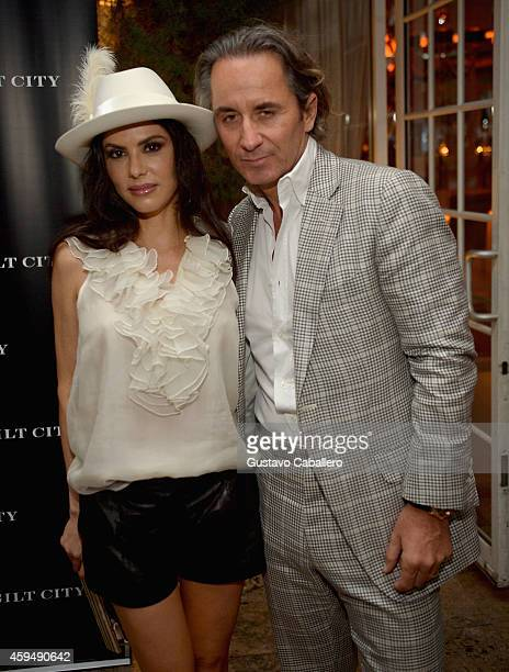 Adriana De Moura and Frederic Marq attends Gilt City Celebrates The Launch Of Andy Cohen's New Book The Andy Cohen Diaries on November 23 2014 in...