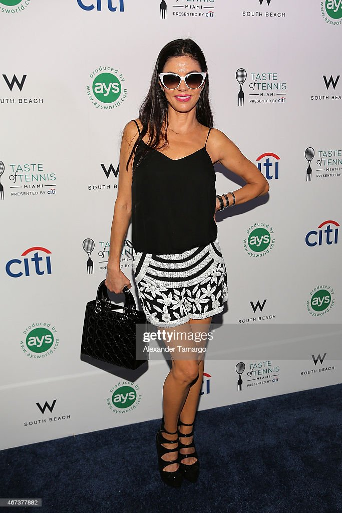 Adriana de Moura attends Taste Of Tennis Miami Presented By Citi at W South Beach on March 23, 2015 in Miami Beach, Florida.