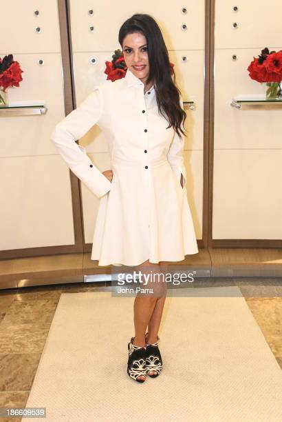 Adriana de Moura attends the Brazilian Foundation Luncheon at Neiman Marcus on November 1 2013 in Coral Gables Florida
