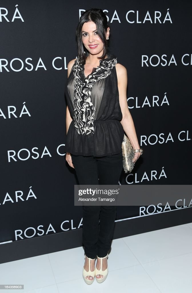 Adriana de Moura attends the grand opening of Rosa Clara store on March 22, 2013 in Coral Gables, Florida.