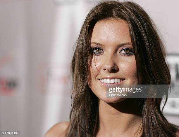 """Adriana during Maroon 5 """"It Won't Be Soon Before Long"""" Album Release Party at The Lot in West Hollywood, California, United States."""