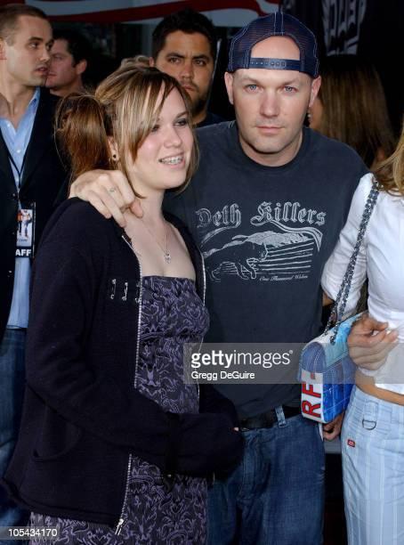 Adriana Durst and Fred Durst during Lords of Dogtown Los Angeles Premiere Arrivals at Grauman's Chinese Theatre in Hollywood California United States
