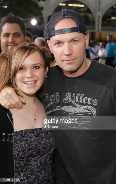 Adriana Durst and Fred Durst during Lords of Dogtown Los Angeles Premiere Red Carpet at Mann's Chinese Theater in Hollywood California United States