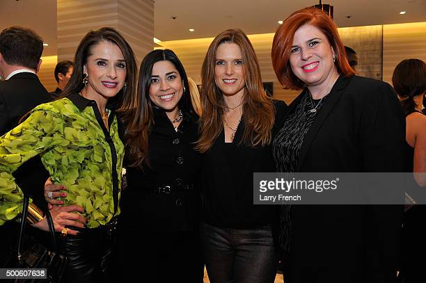 Adriana Escalante Claudia Kelley Diana Moss and Claudia Kern appear at the Grand Opening of The David Yurman Boutique At CityCenter DC Hosted by...