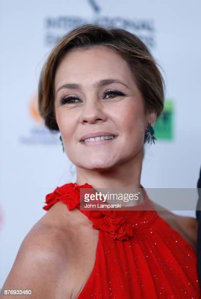 Adriana Esteves attends 45th International Emmy Awards at New York Hilton on November 20 2017 in New York City