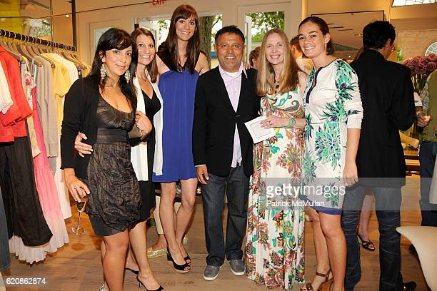 Adriana Farietta Lorraine Otto Erin Gray Elie Tahari Lisanne Menke and Sarah Droz attend Rory and Elie Tahari celebrate the Summer Collection with...