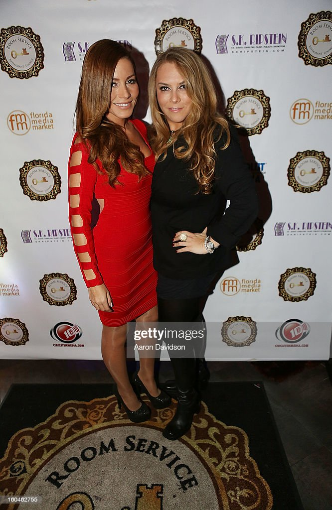 Adriana Fonseca and Stephanie Kon Ripstein attend The Florida Media Market 2013 Event at Room Service on January 31, 2013 in Miami Beach, Florida.