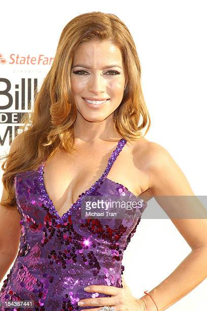 Adriana Fonseca arrives at the 2012 Billboard Mexican Music Awards held at The Shrine Auditorium on October 18 2012 in Los Angeles California