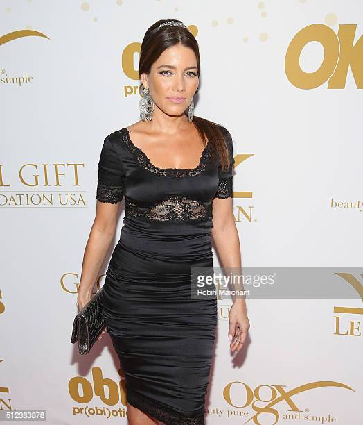Adriana Fonseca attends OK Magazine's PreOscar Party In Support Of Global Gift Foundation at Beso on February 25 2016 in Hollywood California