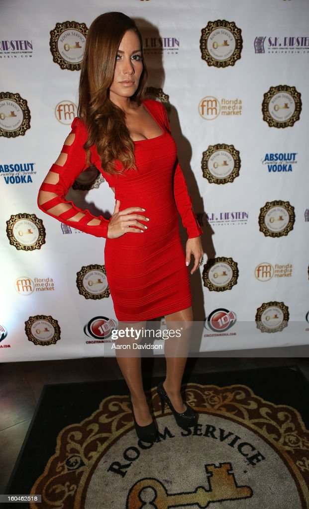 Adriana Fonseca attends The Florida Media Market 2013 Event at Room Service on January 31, 2013 in Miami Beach, Florida.