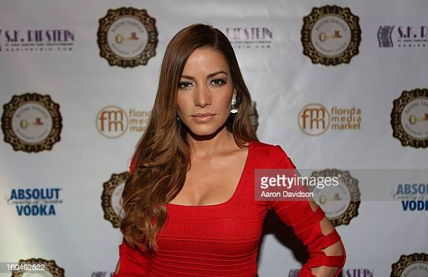 Adriana Fonseca attends The Florida Media Market 2013 Event at Room Service on January 31 2013 in Miami Beach Florida