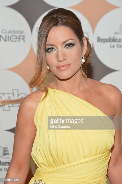 Adriana Fonseca attends the People En Espanol 50 Most Beautiful Gala at The Plaza Hotel on May 15 2012 in New York City
