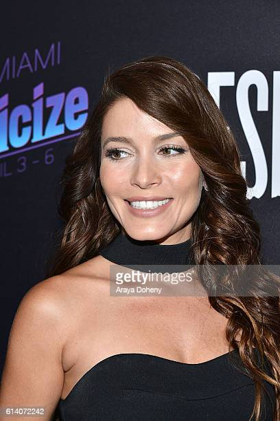 Adriana Fonseca attends the screening of STX Entertainment's 'Desierto' at Regal LA Live Stadium 14 on October 11 2016 in Los Angeles California