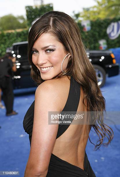 Adriana Fonseca during 2006 Premios Juventud Awards Blue Carpet at Bank United Center in Miami Florida United States