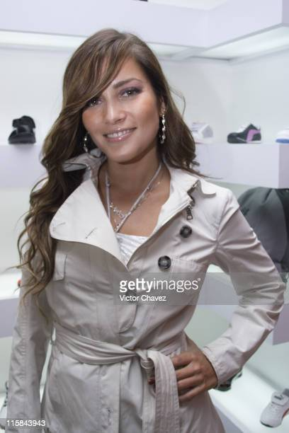 Adriana Fonseca during Puma Present Their New Clothe Line 'I'm Going' at Puma Boutique Mazaryk in Mexico Mexico City Mexico