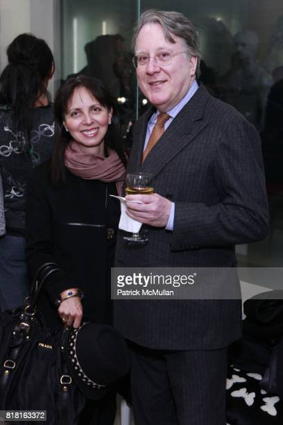Adriana Friedman and Steven Kelly attend GEOFFREY BRADFIELD'S 'THE QUICK AND THE DEAD' Opening at Sebastian Barquet Gallery on November 1st 2010 in...