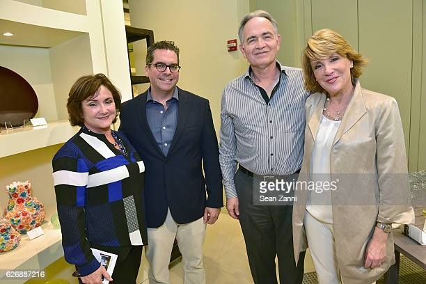 Adriana Hernandez Matt Cooper Raymond Kimsey and Cindy Wolf attends the Art Basel Charity Event Hosted by JANUS et Cie CEO Janice Feldman and...