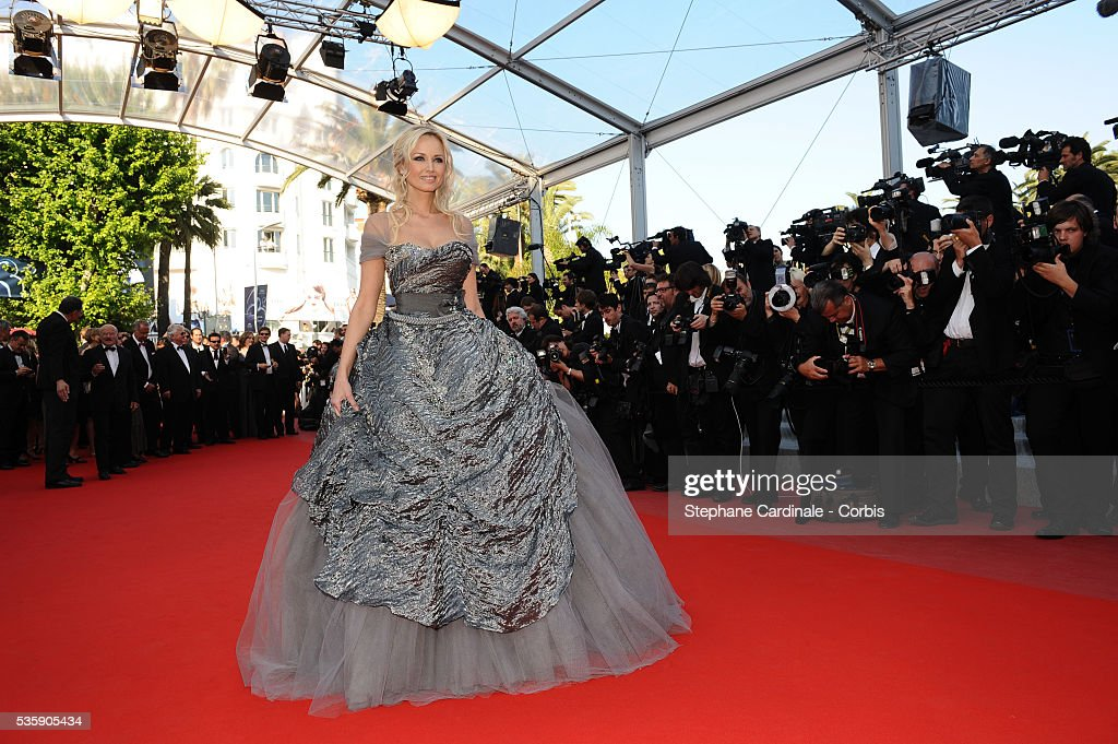Adriana Karembeu at the Premiere for 'Biutiful' during the 63rd Cannes International Film Festival.