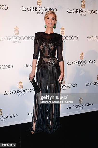 Adriana Karembeu attends the 'de Grisogono Party' during the 66th Cannes International Film Festival