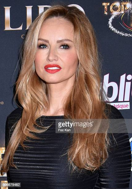 Adriana Karembeu attends the 'Top Model Belgium 2016' Ceremony at Le Lido on January 24 2016 in Paris France