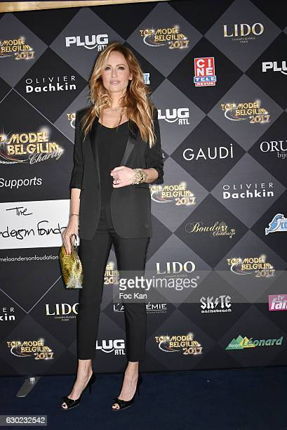 Adriana Karembeu attends the 'Top Model Belgium 2017' Ceremony at Le Lido on December 18 2016 in Paris France